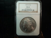 1898O MORGAN $1.00 90 SILVER DOLLAR COIN GRADED NGC MINT STATE 65 BRILLIANT EXAMPLE