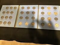 LOT OF 9 STANDING LIBERTY QUARTERS   SILVER   IN BOOK FROM O