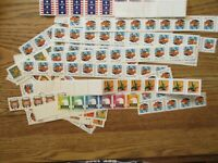 US POSTAGE LOT FIRST CLASS CARDS   BULK   PRESORT & MORE OVE