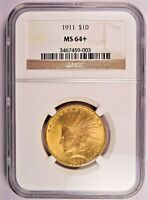 1911 $10 GOLD INDIAN NGC MS64     CONDITION