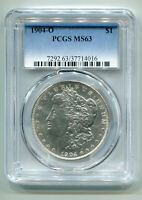 1904-O MORGAN SILVER DOLLAR PCGS MINT STATE 63  ORIGINAL COIN BOBS COINS FAST SHIP