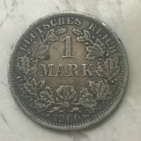 1900 F GERMANY 1 ONE MARK    DATE   ONLY 301 000 MINTED