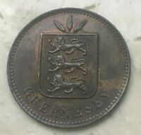 1893 H GUERNSEY 4 DOUBLES