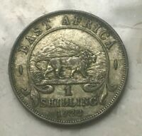 1922 EAST AFRICA SHILLING   NICE SILVER