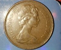 1971 NEW PENCE 2P BRITISH ELIZABETH II  COIN FIRST RELEASE 1971
