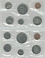 CANADIAN PROOF LIKE SETS 1975 & 1979 AS ISSUED BY RCM.  ITEM
