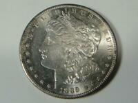 US 1889 S SILVER MORGAN DOLLAR COIN UNCIRCULATED