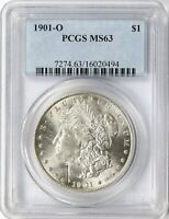 1901-O $1 MORGAN DOLLAR PCGS MINT STATE 63