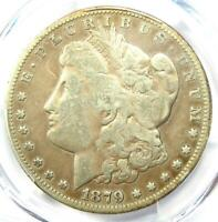 1879-CC MORGAN SILVER DOLLAR $1 - CERTIFIED PCGS FINE DETAIL - CARSON CITY COIN