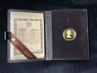 $100 22 KARAT 1984  GOLD PROOF COIN