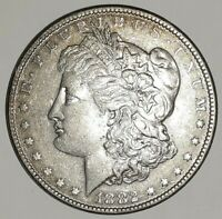 1882 P MORGAN SILVER DOLLAR, PHOTOS ARE WHAT YOU WILL RECEIVE, SHIPS FREE