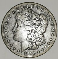 1885 S MORGAN SILVER DOLLAR, PHOTOS ARE WHAT YOU WILL RECEIVE, SHIPS FREE