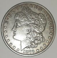 1878 PMORGAN SILVER DOLLAR, PHOTOS ARE WHAT YOU WILL RECEIVE, SHIPS FREE