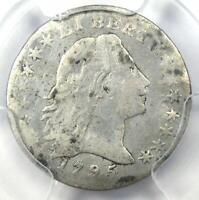 1795 FLOWING HAIR HALF DIME H10C - CERTIFIED PCGS VG DETAILS -  COIN