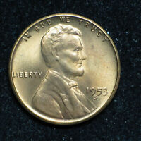 1953 S LINCOLN WHEAT CENT  BU RED   ITEM 1780