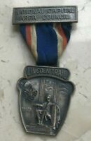 VINTAGE BOY SCOUTS LINCOLN TRAIL BADGE MEDAL   NATIONAL CAPITAL AREA COUNCIL