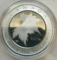 2005 CANADA 5 DOLLARS SILVER PROOF   MAPLE OF HOPE   AS