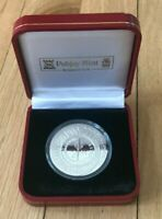 2000 ISLE OF MAN 1 ONE CROWN SILVER PROOF   MILLENNIUM