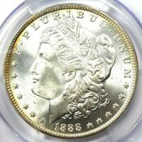 1888-O MORGAN SILVER DOLLAR $1. CERTIFIED PCGS MINT STATE 66 -  IN MINT STATE 66 - $1450 VALUE