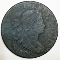 1800 DRAPED BUST LARGE CENT BEAUTIFUL COIN RARE DATE