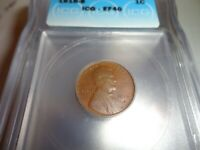 1916S EF40 ICG  LINCOLN CENT
