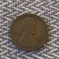 1911 D LINCOLN WHEAT CENT PENNY