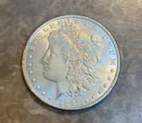 1897 MORGAN SILVER DOLLAR. CH B.U. CONDITION.