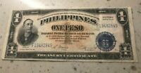 ND  1944  PHILIPPINES 1 ONE PESO VICTORY   WORLD CURRENCY BANKNOTE