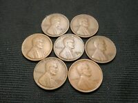 1916-S 1920-S 1921-S 1923-S 1925-S 1927-S 1928-S ALL VF OR BETTER LINCOLN  CENTS