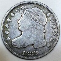 1832 CAPPED BUST DIME BEAUTIFUL COIN RARE DATE