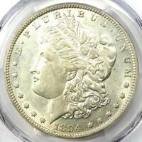 1894 MORGAN SILVER DOLLAR $1 - CERTIFIED PCGS AU DETAIL - KEY DATE 1894-P COIN