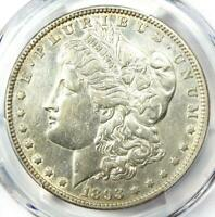 1893 MORGAN SILVER DOLLAR $1 COIN. CERTIFIED PCGS EXTRA FINE  DETAIL EF -  DATE