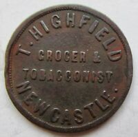 GREAT BRITAIN NEWCASTLE  T. HIGHFIELD GROCER UNOFFICIAL FART