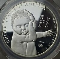 1 DOLLAR 2015 W MARCH OF DIMES UNITED STATES PR69DCAM / PCGS