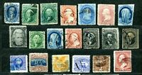 USA   SMALL COLLECTION CLASSIC MATERIAL  CANCELLED   MINT NO