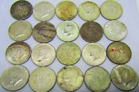 ONE  1  ROLL OF MIXED 1964 P & D KENNEDY HALVES 90  SILVER