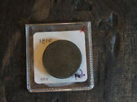 1810 COPPER US LARGE CENT TURBAN HEAD ABOUT GOOD