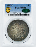 1895-O MORGAN S$1 PCGS MINT STATE 65