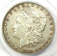 1895-S MORGAN SILVER DOLLAR $1 - CERTIFIED ANACS AU50 DETAILS -  COIN