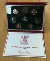 1985 GREAT BRITAIN UNITED KINGDOM COIN PROOF SET