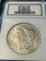 1899-O MINT STATE 64 MORGAN SILVER DOLLAR - 1899 O MINT STATE 64 OLD NGC HOLDER UNCIRCULATED