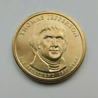 2007 D THOMAS JEFFERSON PRESIDENTIAL DOLLAR-UNCIRCULATED