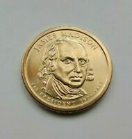 2007 D JAMES MADISON PRESIDENTIAL DOLLAR-UNCIRCULATED