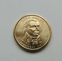 2007 D JOHN ADAMS PRESIDENTIAL DOLLAR-UNCIRCULATED