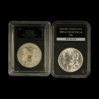 1901-PD $1 MORGAN SILVER DOLLAR IN HOLDERS - SHIPS FREE USA