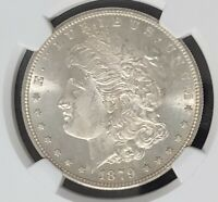 1879 S $1 MORGAN SILVER DOLLAR - NGC MINT STATE 63 - SILVER COIN - 1 DOLLAR