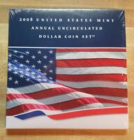 2008 ANNUAL DOLLAR SET UNOPENED US MINT ORIGINAL PACKAGING INC. W SILVER EAGLE