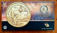 2019 NATIVE AMERICAN COIN & CURRENCY SET WITH ENHANCED UNCIRCULATED SACAGAWEA $1