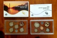 2019 S US MINT 10 COIN PROOF SET WITH PROOF   W  LINCOLN CENT