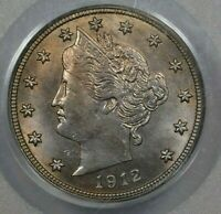 1912-S 5C PCGS MINT STATE 63 OGH